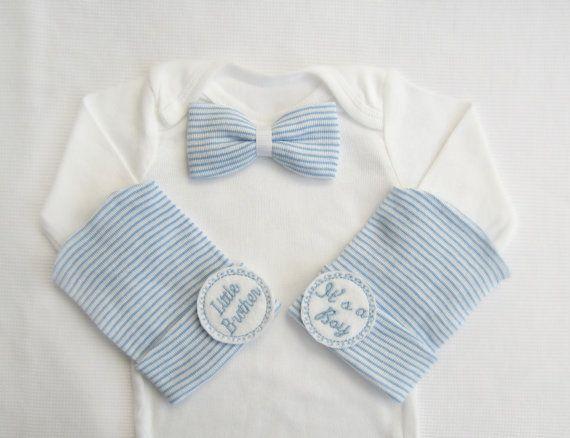 Próximos traje casero muchacho recién nacido por PinkandBlueBonnets