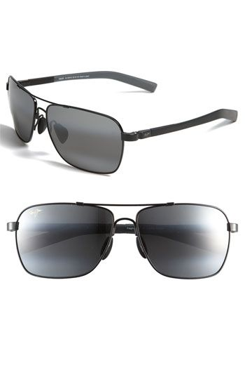 Maui Jim 'MauiFlex - Freight Trains' PolarizedPlus® 62mm Sunglasses | Nordstrom