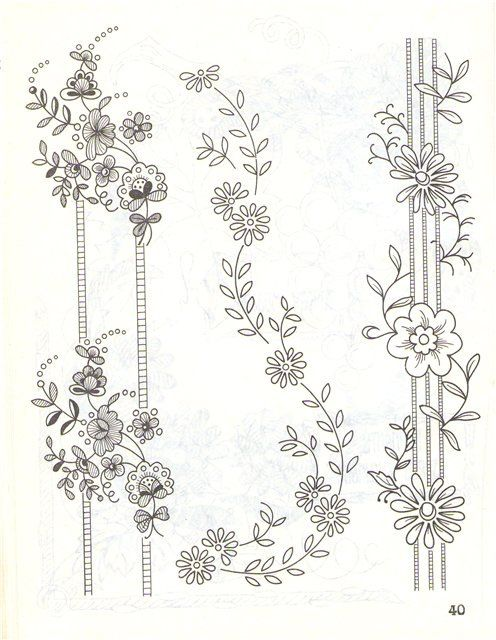 Best images about embroidery patterns example of