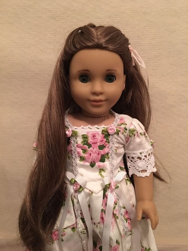 """American Girl Doll 18"""" MARIE GRACE 2011 Historical Retired Custom Outfits *MINT* #AmericanGirl #DollswithClothingAccessories"""
