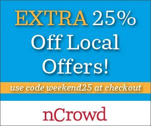 5/30-31: only ---  Extra 25% Off All Local Deals at nCrowd.ca, code WEEKEND25 http://www.planetgoldilocks.com/canadiancoupons #sales #coupons #canadiancoupons #canadiansales