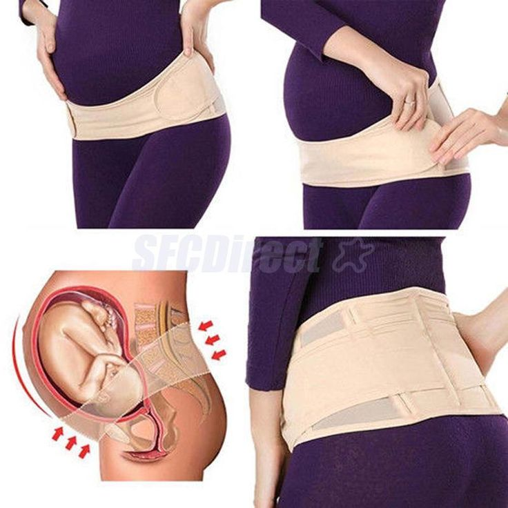 Abdomen Back Support Belt Deluxe Maternity Band Pregnancy Tummy Belly Band