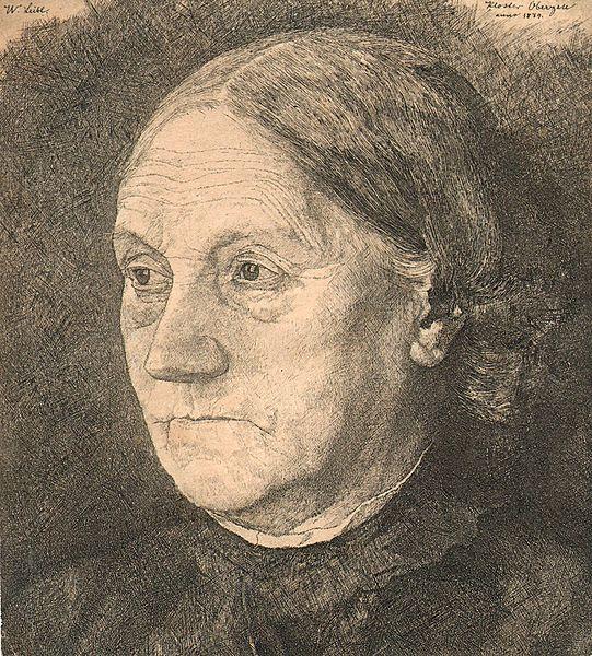 1879. Leibl Wilhelm. Gertrud Leibl.