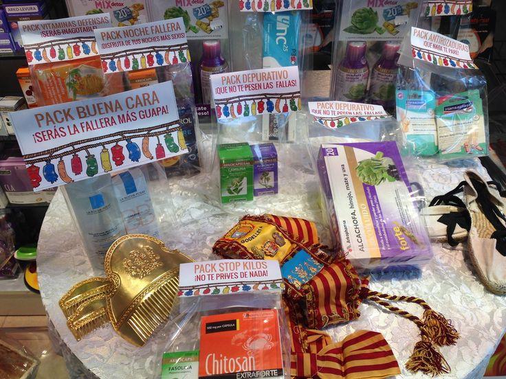 Packs preparados para pasar unas fiestas de #Fallas inolvidables