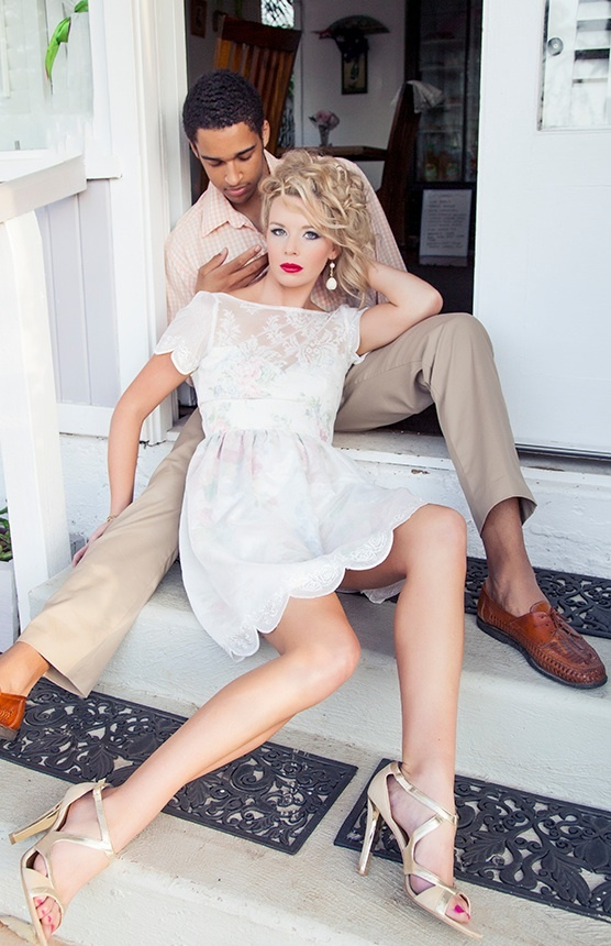 Breaking the stepford couple editorial fashion shoot concept fashionlust models abbigail