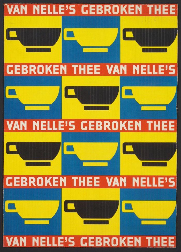 Jac Jongert, Van Nelle #typography #graphicdesign