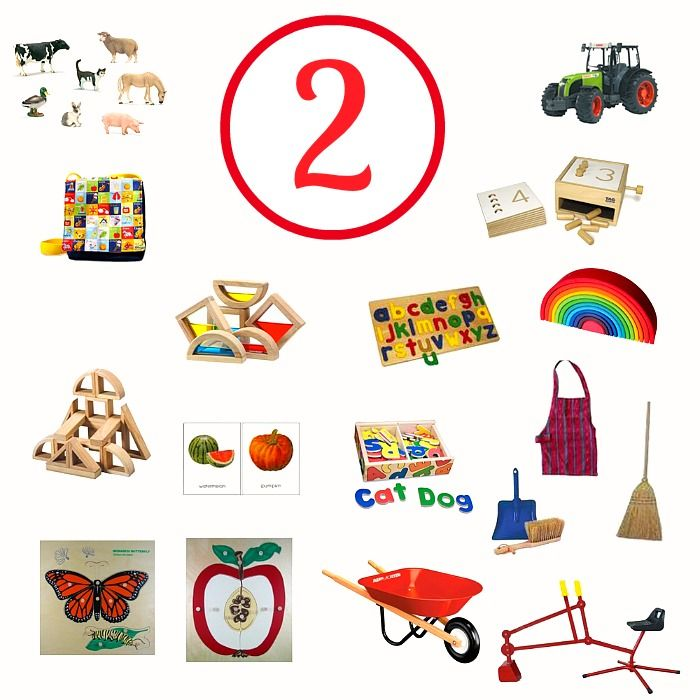Excellent Montessori website - contains great ideas for age-appropriate developmental toys by the month!  Awesome resource!