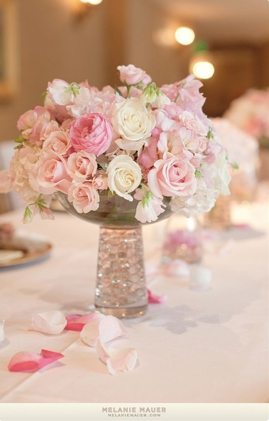 small centerpieces - Click image to find more weddings Pinterest pins