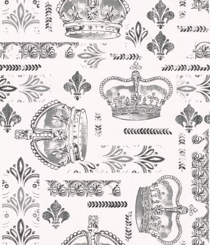 Arley Black / Grey wallpaper by Timney Fowler