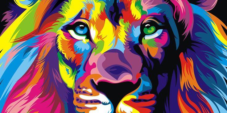 Coloridas Ilustraciones Vectoriales de Animales por Wahyu Romdhoni - Creadictos