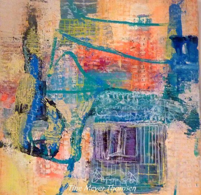 Tine Meyer Thomsen || Kunst2100 || Østerbro kunstnere