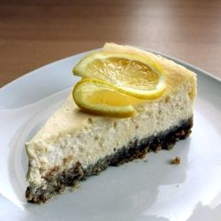 Creamy lemon cheesecake (in Polish)
