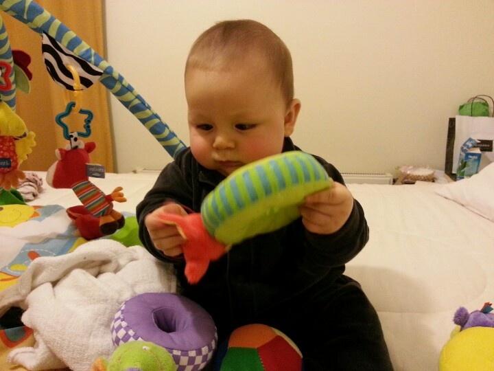 Explorando sus juguetes