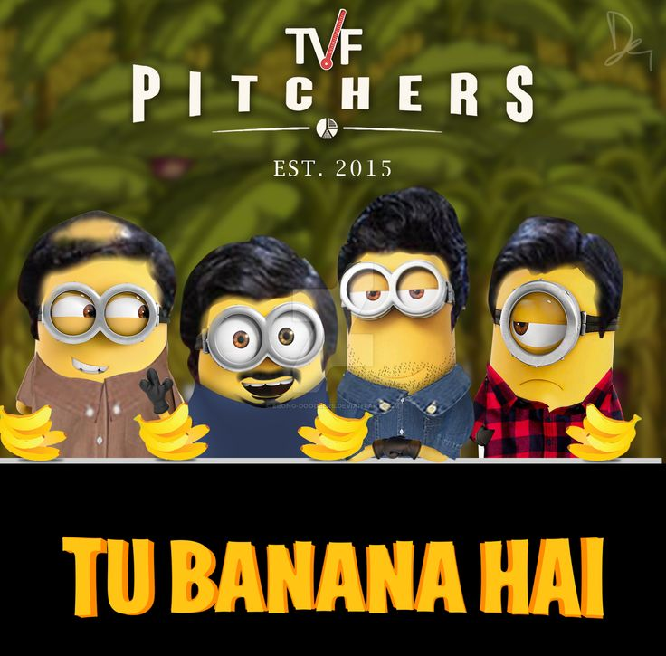 TVF Pitchers Minion by Ebong-Doodlers.deviantart.com on @DeviantArt