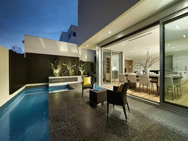 Outdoor living design with pool from a real Australian home - Outdoor Living photo 1788857