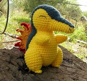 Cyndaquil Pokemon crochet pattern