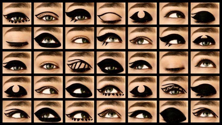 Beauty tutorial - eyeliner. By Ellis Faas, Thalia de Jong, I LOVE YOU Magazine