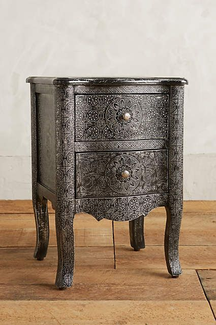 Hand Embossed Nightstand Pinterest Furniture Anthropologie And Products
