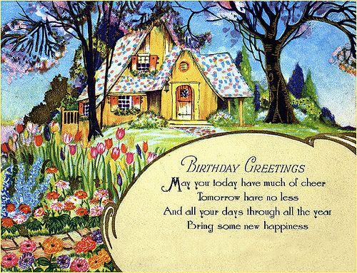 Deco Birthday Greeting