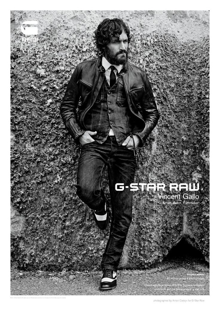 vincentgallo2 Vincent Gallo for G Star Raw Fall 2011 Campaign