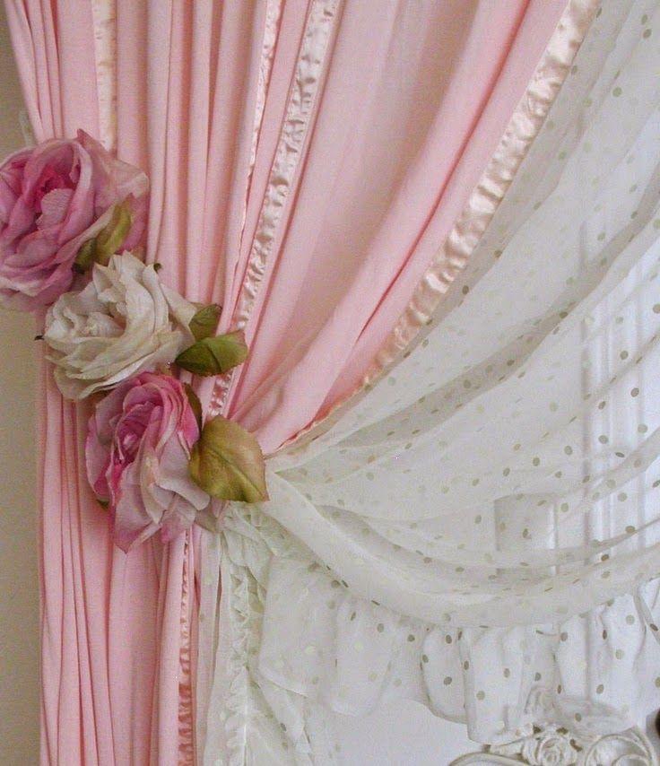 33 melhores imagens sobre cortinas no pinterest rosas de for Ver modelos de cortinas