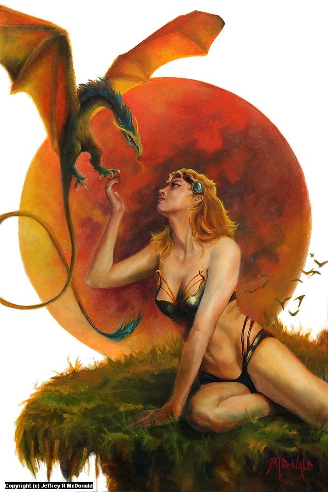 Dragon's Kiss by Jeffrey McDonald