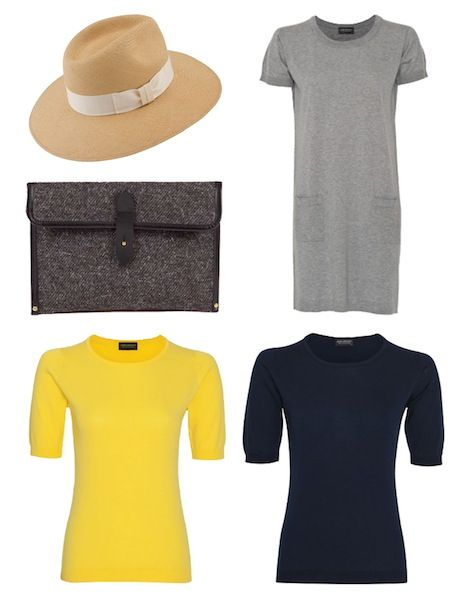 Summer Holiday Classic Style: Christy's Panama Trilby, JS|Chechbi ipad Case for the perfect clutch bag & cotton essentials from John Smedley www.johnsmedley.com