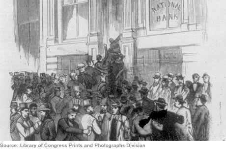 The Panic of 1873 -- led to worldwide depression
