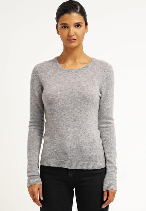 Köp Zalando Essentials Stickad tröja - light grey melange för 699,00 kr (2018-01-04) fraktfritt på Zalando.se
