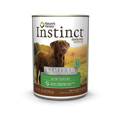 Nature's Variety Instinct Limited Ingredient Diet Grain-Free Canned Dog Food