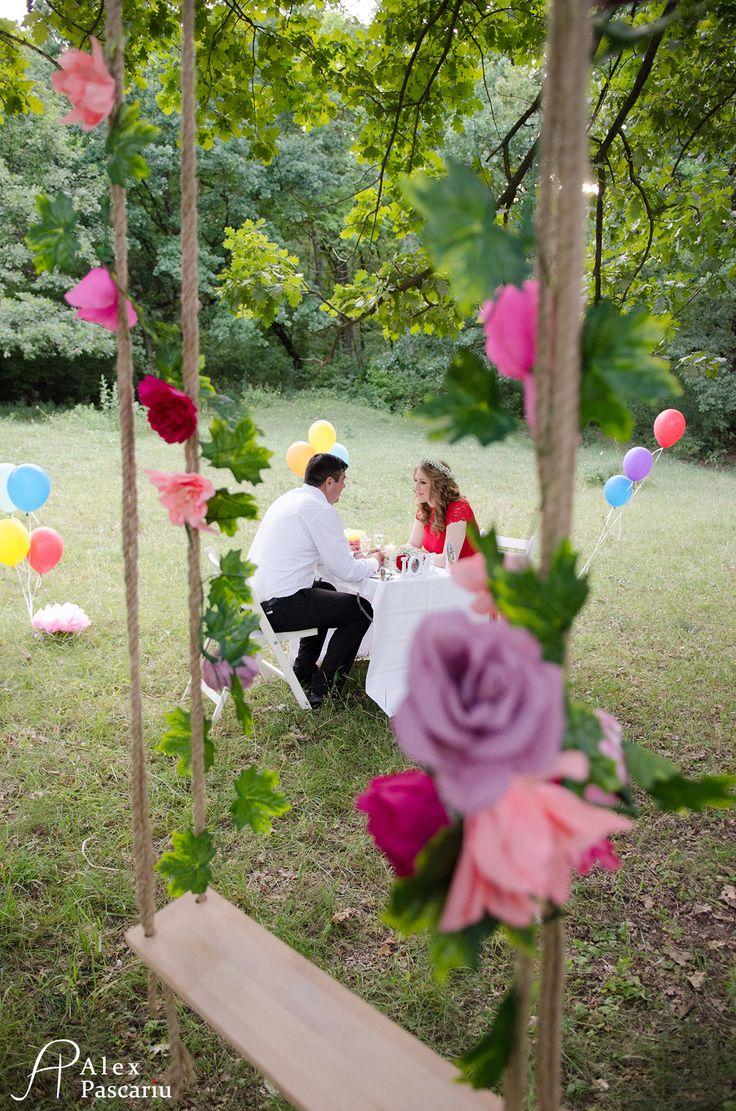 engagement picnic decorations
