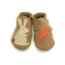 Παπουτσάκια μαλακά 'Rabbit & Carrot'