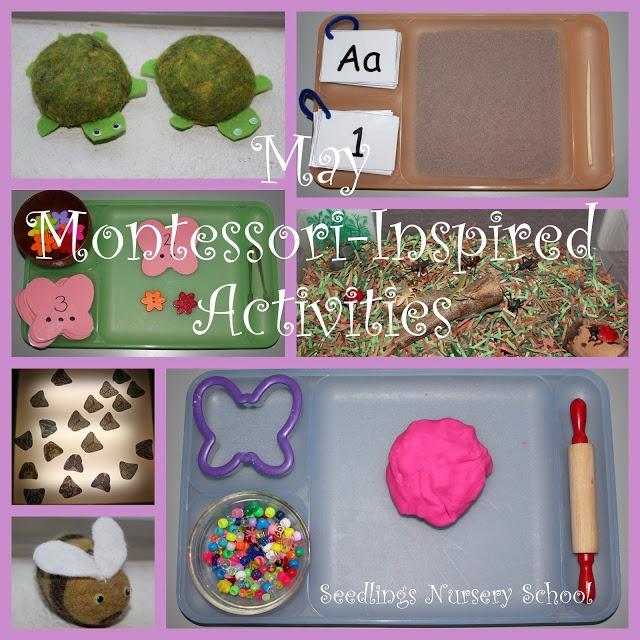 """May Montessori-Inspired Activities"" {Seedlings Nursery School}"