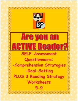 Reading Comprehension Strategies Student Questionnaire & 3