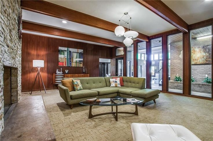 Groovy '60s pad with indoor pool, Mad Men vibes asks $425K - Curbedclockmenumore-arrow : It's located in Garland, Texas