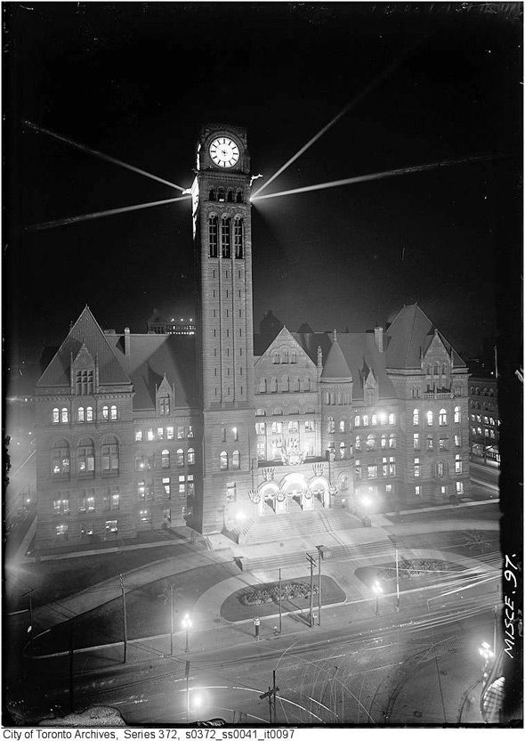 Check out these old nighttime pictures of Toronto. They were taken at a time when night photography was nearly impossible to achieve.