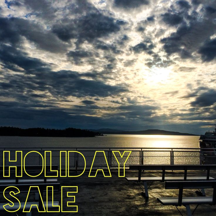 We're off! Our shop is OPEN while we're on holiday. Use promo code: HOLIDAY15 for a 15% discount. Info in our store.