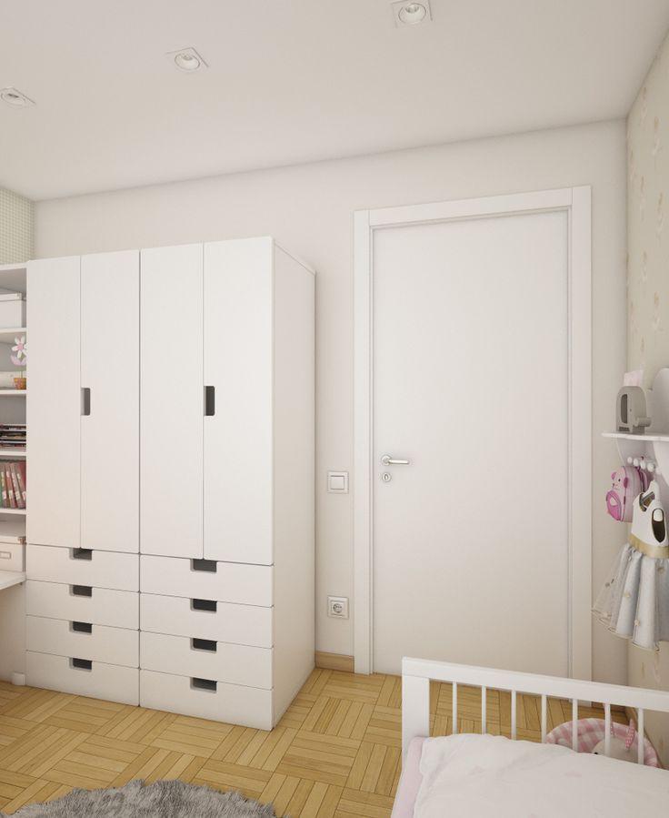 Фото из портфолио Трёхкомнатная квартира на ул. Полтавская – фотографии дизайна интерьеров на InMyRoom.ru