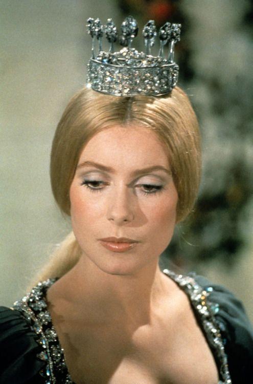 Catherine Deneuve in 'Peau d'Ane', 1970.
