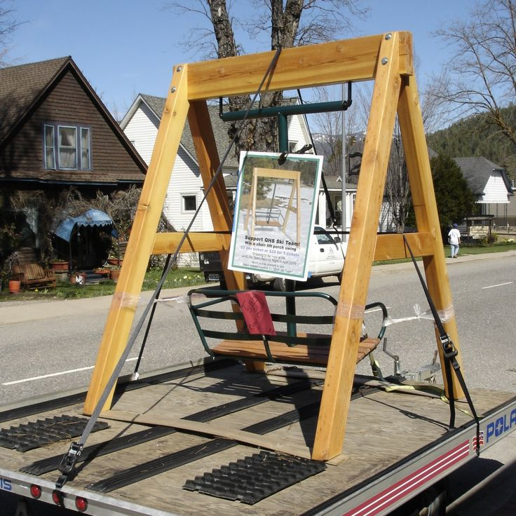 [ChairLiftPorchSwing.jpg] Ski lift chair, Ski lift