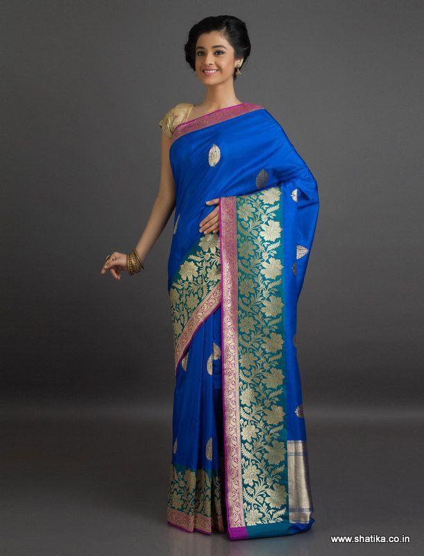 Rashi Kataan Silk Inspired #Banarasi #ShaluSilkSaree