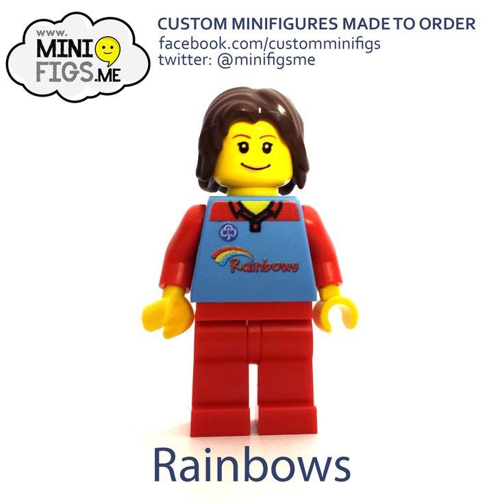 Rainbows – Girlguiding LEGO Minifigs