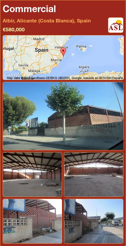 Commercial in Albir, Alicante (Costa Blanca), Spain ►€580,000 #PropertyForSaleInSpain