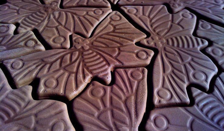 Decorative Concrete Paver Molds Quot Butterfly Quot Ebay