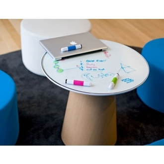kindly accommodating of graffiti. steelcase turnstone paper table.