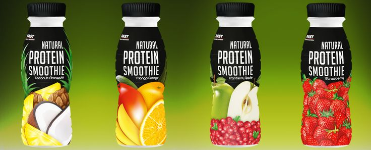 Natural Protein Smoothie | Fast
