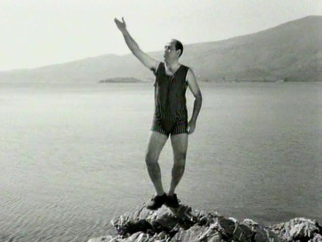 """1963 Ο ΘΑΝΑΣΗΣ ΒΕΓΓΟΣ ως ....ΣΤΕΦΑΝΟΣ ΑΥΓΕΡΙΝΟΣ στο """"ΤΥΦΛΑ ΝΑ' ΧΕΙ Ο ΜΑΡΛΟΝ ΜΠΡΑΝΤΟ"""" του ΟΡΕΣΤΗ ΛΑΣΚΟΥ, ΝΑΠΟΛΕΟΝΤΑ ΕΛΕΥΘΕΡΙΟΥ"""
