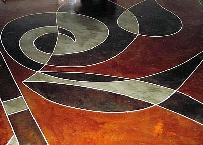 Abstract, Earth Tones  Artistic Concrete  Advanced Surfacing Technology  Elgin, TX: Surfacing Technology, Advanced Surfacing, Earth Tones, Concrete Advanced, Technology Elgin, Tones Artistic, Floor Logos, Photo Galleries