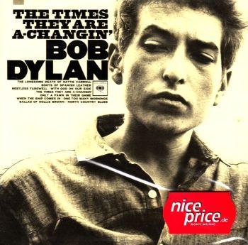 Hudební album zpěváka Bob Dylan - The Times They Are -Changin na cd