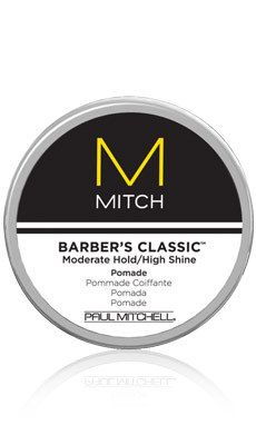 Paul Mitchell - Barber's Classic #paul #mitchell #mitch #hair #man #men #product #barber #classic #style #pomade #hold #shine